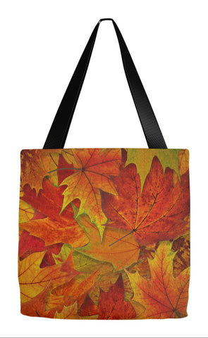 Fall Tote - Autumn Leaves