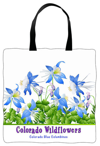 Tote Bag - Colorado Columbines