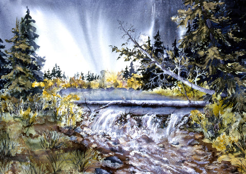 "Greeting Card - ""Crystal Creek"""