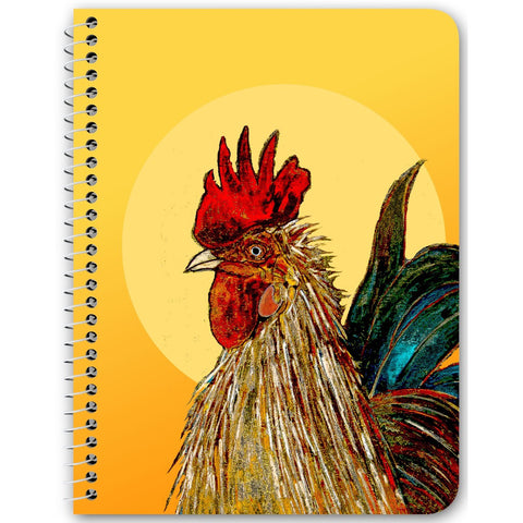 "Notebook - ""Morning Rooster"""
