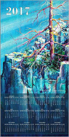 Calendar - Blue Cliff Tree