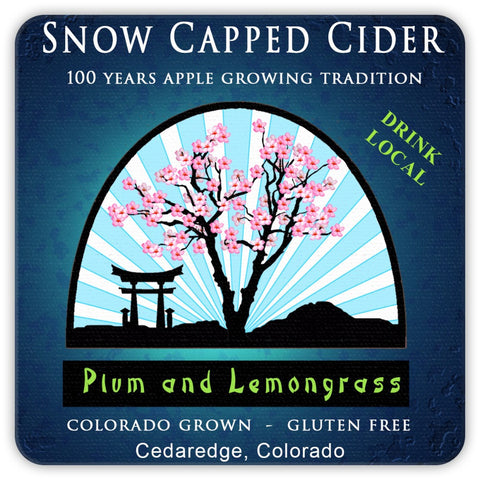 Coaster - Plum Lemongrass Cider