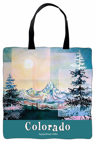 Tote Bag - Moonlight Mountain