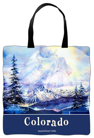 Tote Bag - Thunderheads Over Rockies