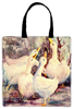 Tote Bag - 5 White Geese