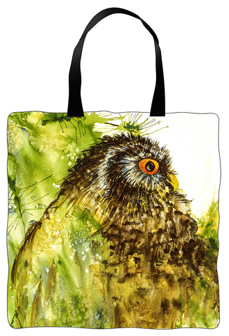 Tote Bag - Red Eye Owl