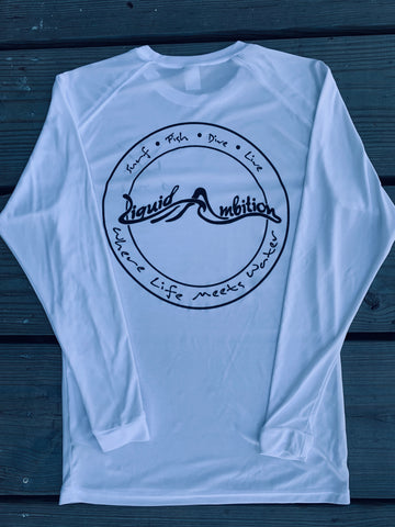 Logo Patch Dri-Fit White