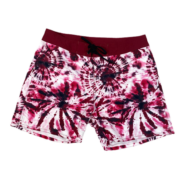 Shorty Red TieDye