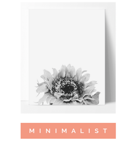 Minimalist Wall Art Poster Print Affordable