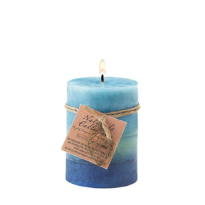 Soothing Aroma Pillar Candle 3x4 - Ink Print Art