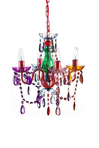 The original gypsy color 4 light small gypsy chandelier h18 w15 the original gypsy color 4 light small gypsy chandelier h18 w15 red metal aloadofball Image collections