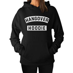 Hangover Hoodie - Funny After Party Women's Hoodie Medium Black