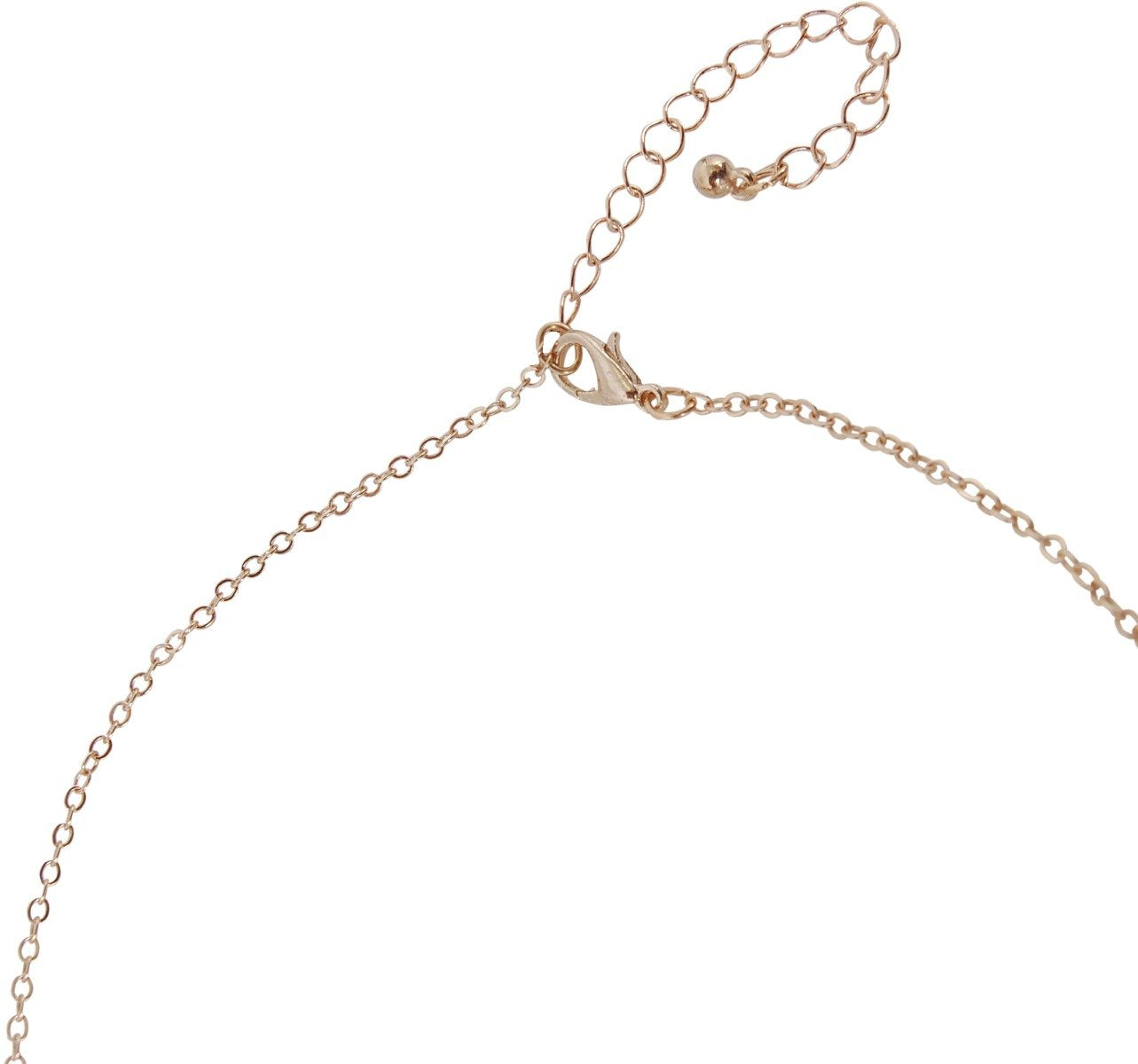 Humble Chic Women's Y-Chain Bar Necklace - Adjustable Long Thin Delicate Chevron Choker Lariat, Gold-Tone
