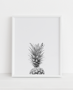 Shy Pineapple 2 Printable Art