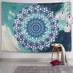 "Indian Mandala Tapestry Wall Hanging Bohemian Decor 59.1""x59.1"""