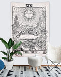 "The Sun Tapestry Wall Hanging (59""×59"")"