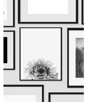 Sunflower Printable Wall Art, Home Decor, Instant Download - Ink Print Art  - 2
