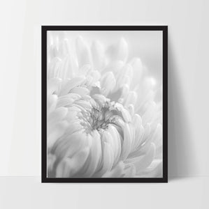 Flower #1 Printable Art, 11 x 14 Inches - Ink Print Art  - 1