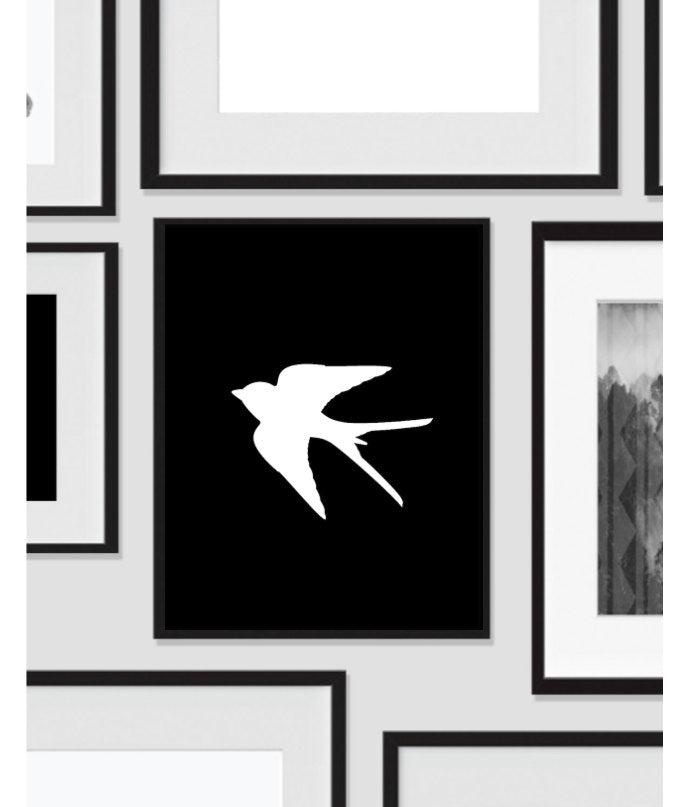 Sparrow Bird, Black White, Printable, Wall Art, Artwork, Home Decor, Modern Print, Print Art, Nature Art, Color, Decorations, Digital Print