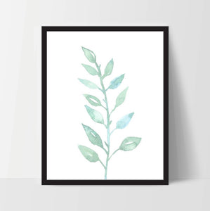 Instant Download, Garden Floral, Art Print, Print Decor, Digital Art Print, Office Print, 12x16, Wall Art, Printable, Living Room Art