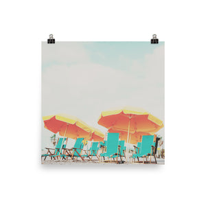 Beach Poster Wall Art