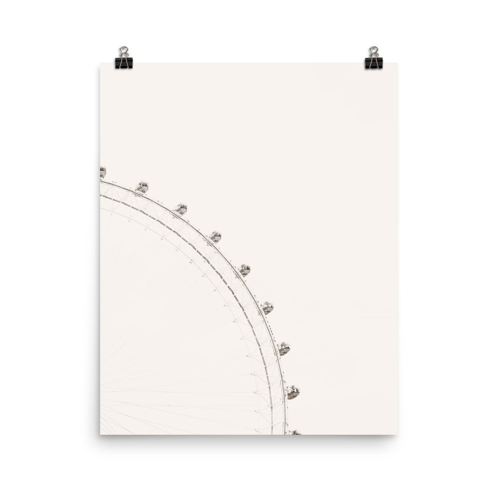Feris Wheel Poster Wall Art
