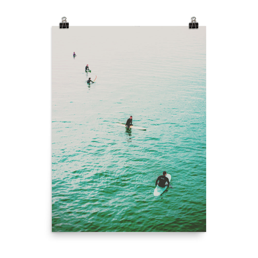 Surfer Poster Wall Art