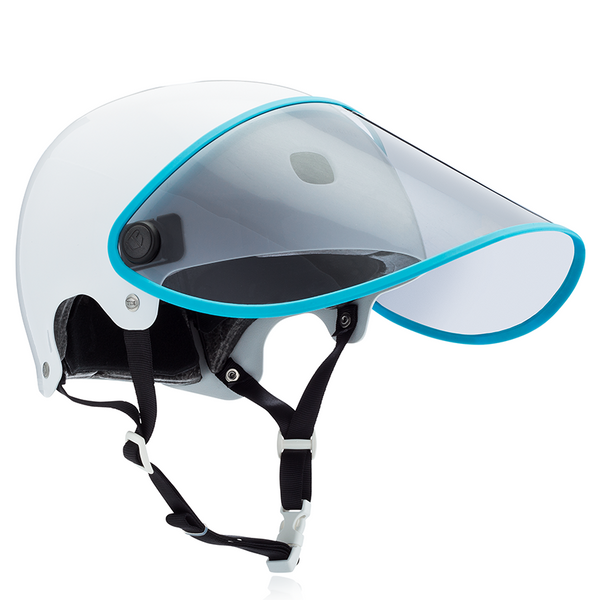 BOUCLIER Visor with Blue Trim