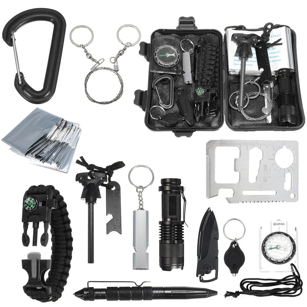 13-in-1 Professional Multifunction Survival Kit
