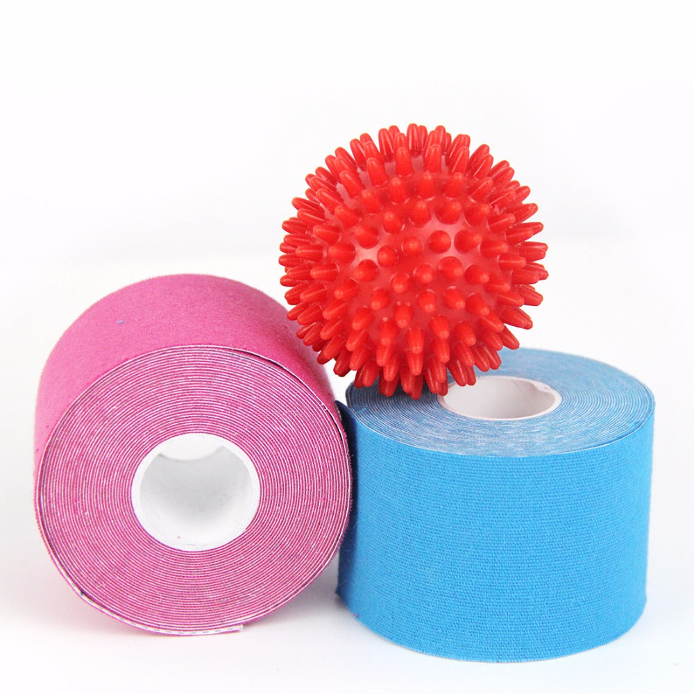 Pack of 2 Kinesiology Tapes + Foot Massage Ball