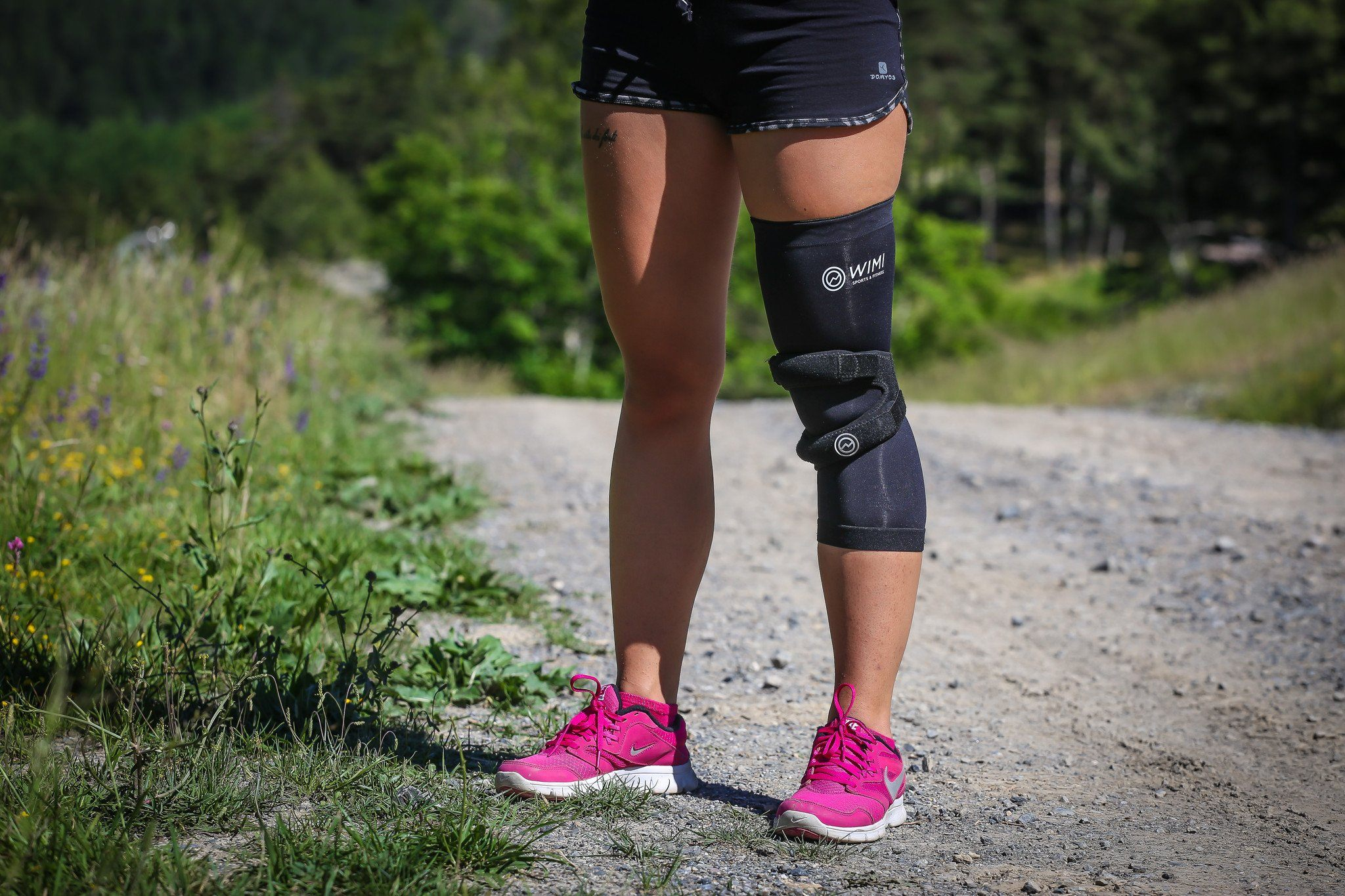 Runner's Knee Brace + Copper Compression Knee Sleeve Duo Pack