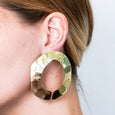 Circular Stairwell earrings