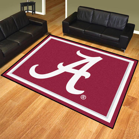 NCAA Alabama Crimson Tide 8 X 10 Ft. Area Rug - Bed, Bath, And My Team