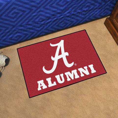 NCAA Alabama Crimson Tide ALUMNI Starter Rug - Bed, Bath, And My Team