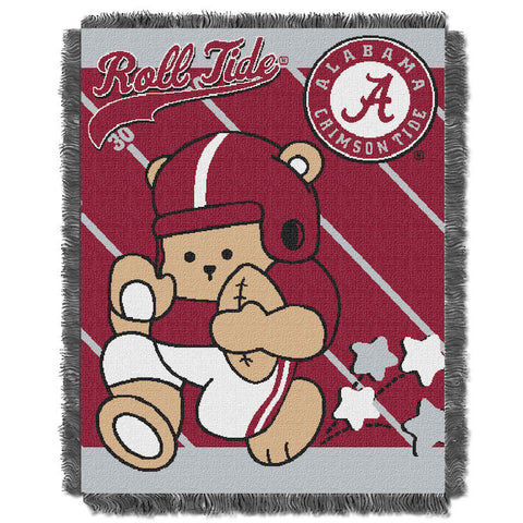 NCAA Alabama Crimson Tide Baby Blanket - Bed, Bath, And My Team