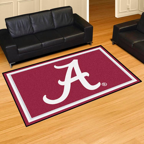 NCAA Alabama Crimson Tide 5 X 8 Ft. Area Rug - Bed, Bath, And My Team