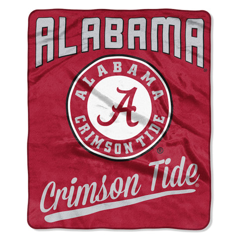 NCAA Alabama Crimson Tide 50 x 60 Alumni Raschel Throw Blanket - Bed, Bath, And My Team