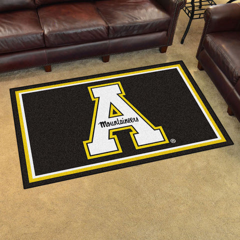 NCAA Appalachian State Mountaineers 4 X 6 Ft. Area Rug - Bed, Bath, And My Team