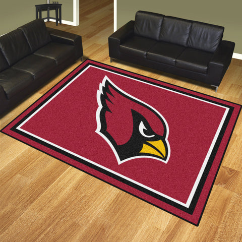Arizona Cardinals 8 x 10 area rug