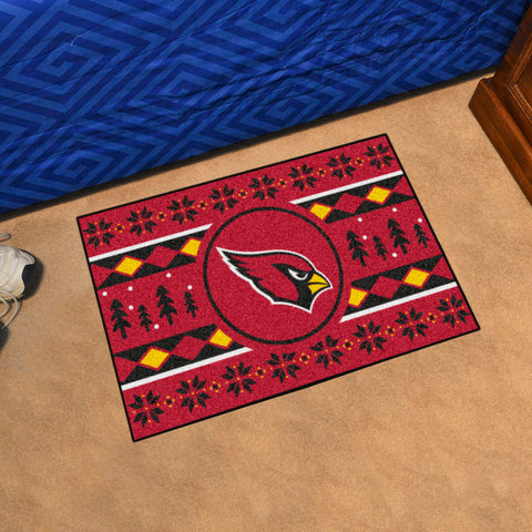 Arizona Cardinals Holiday Sweater Rug