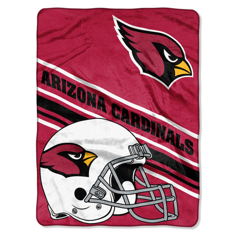 Arizona Cardinals large plush blanket