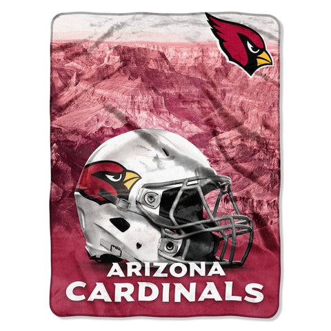 Arizona Cardinals large silk touch blanket