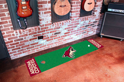 Arizona Coyotes Golf Putting Green Mat