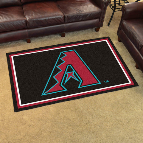 MLB Arizona Diamondbacks 4 X 6 Ft. Area Rug - Bed, Bath, And My Team