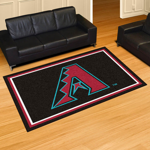 MLB Arizona Diamondbacks 5 X 8 Ft. Area Rug - Bed, Bath, And My Team