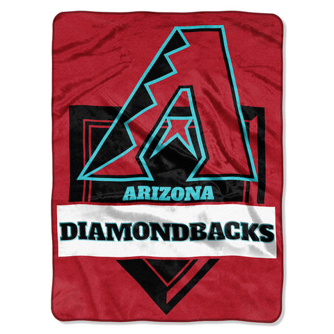 MLB Arizona Diamondbacks 60 x 80 Large Plush Raschel Throw Blanket - Bed, Bath, And My Team