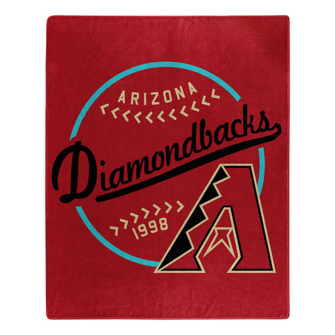 MLB Arizona Diamondbacks 50 x 60 Jersey Raschel Throw Blanket - Bed, Bath, And My Team