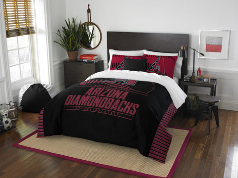 MLB Arizona Diamondbacks Queen/Full Comforter and Sham Set - Bed, Bath, And My Team