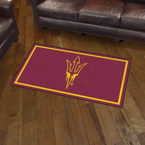 NCAA Arizona State Sun Devils 3 X 5 Ft. Plush Area Rug - Bed, Bath, And My Team