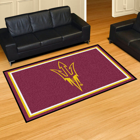 NCAA Arizona State Sun Devils 5 X 8 Ft. Area Rug - Bed, Bath, And My Team